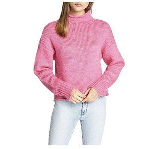 Sanctuary [XS] Dark Pink CURL UP Sweater